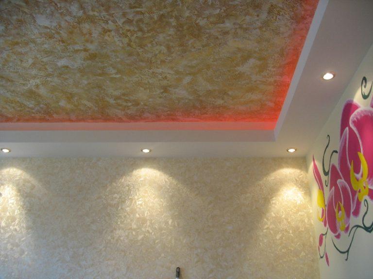 Как своими руками сделать потолок фото 372