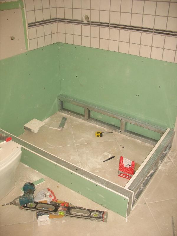 Dušas siena, duša, metāla profili