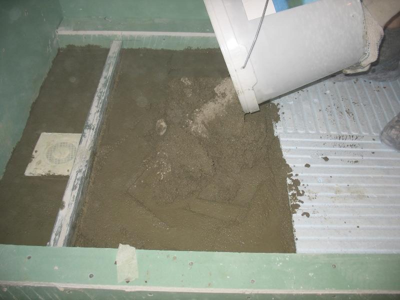 sausais betons. betons klons, dusas paliknis