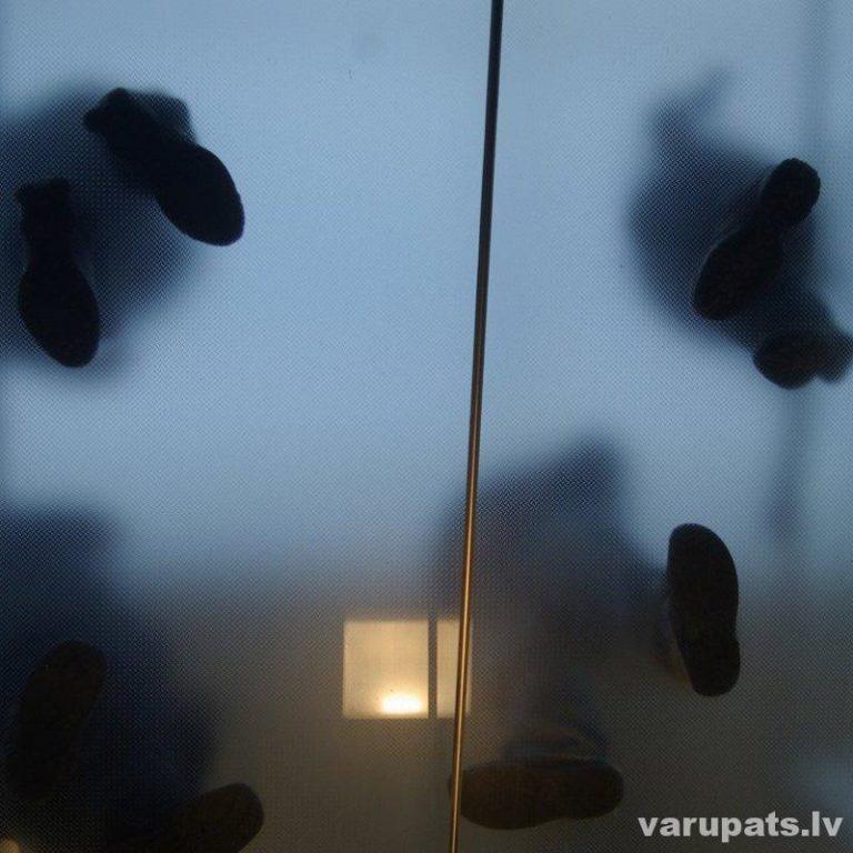 Stikla griida, grīda no stikla