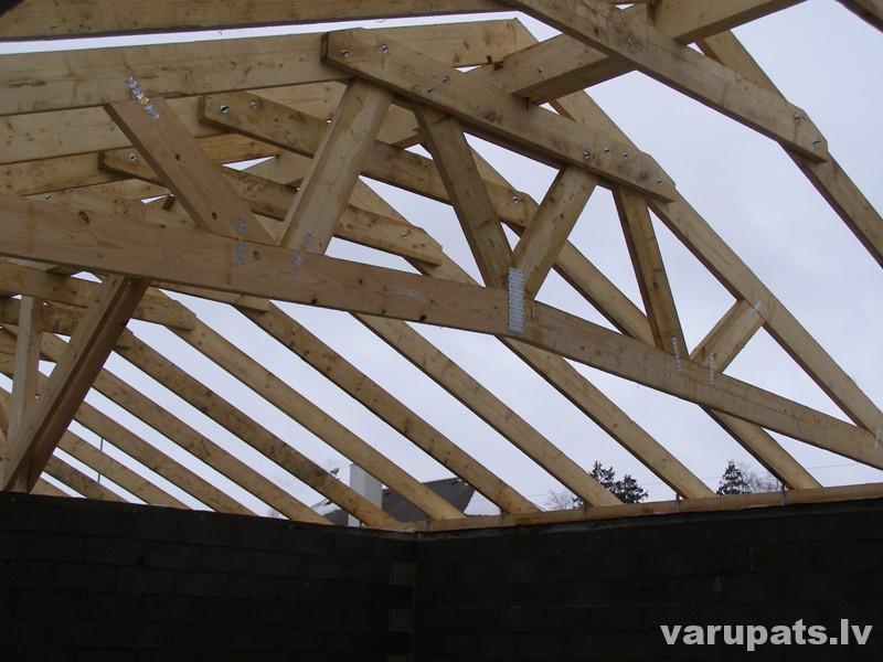 jumta spāru savienojumi