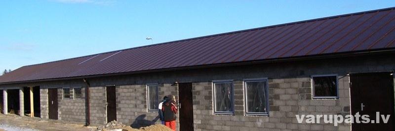 metāla valcprofila jumta segums