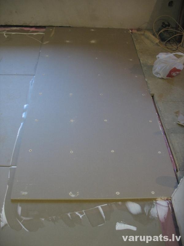 reģipša grīda