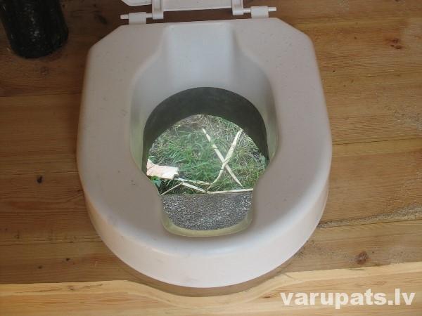 āra tualete, sausā tualete
