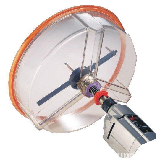 Regulējams caurumu grieznis mīksta veida materiāliem, tādiem kā reģipsis vai kokšķiedras plāksnes