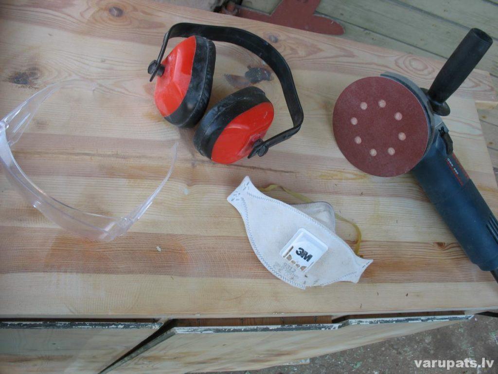 Vecas mēbeles atjaunošana