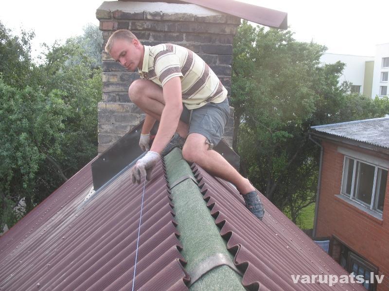 jumta koris,jumts,kores augstuma regulēšana