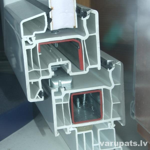 Logi PVC,5-kameru logs,kļūdas