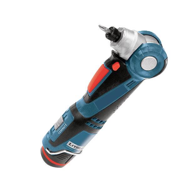 Akumulatora leņķa skrūvgriezis