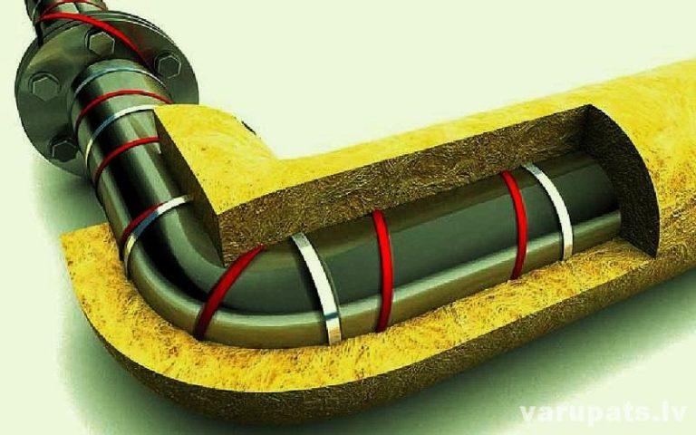 cauruļu siltumizolācijas čaulas, apsildes kabeļi caurulēm, devi apsildes kabeļi ūdensvadam