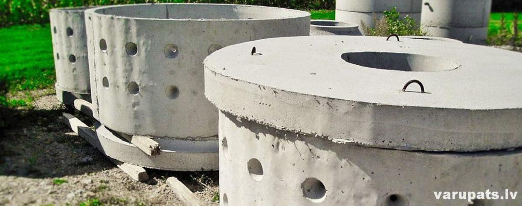 kanalizacijas betona grodi, drenazas akas, drenāža kanalizācijas sitēmai, privātmājas kanalizācijas sistēma, betona grodu sistēma kanalizācijai