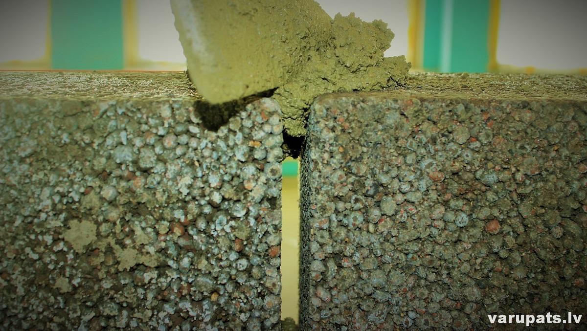 fibo bloku siena, muresanas cena, betons blokiem, keramzīta bloku siena