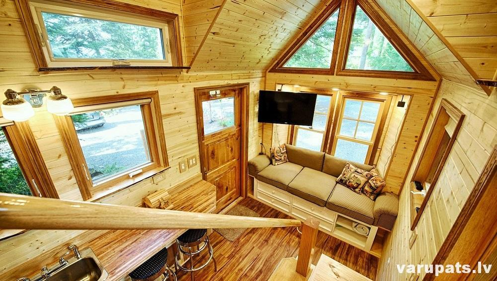 siltināt mazu mājinu, siltināt treileri, siltinajums izolācija treilerim, nosiltināt dzīvojamo vagoninu