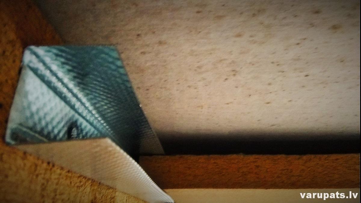 pretvēja plākšņu nostiprināšana, pretvēja plāksnes spārēs, pretvēja materiāls, pretvēja plākšņu stiprinājumi