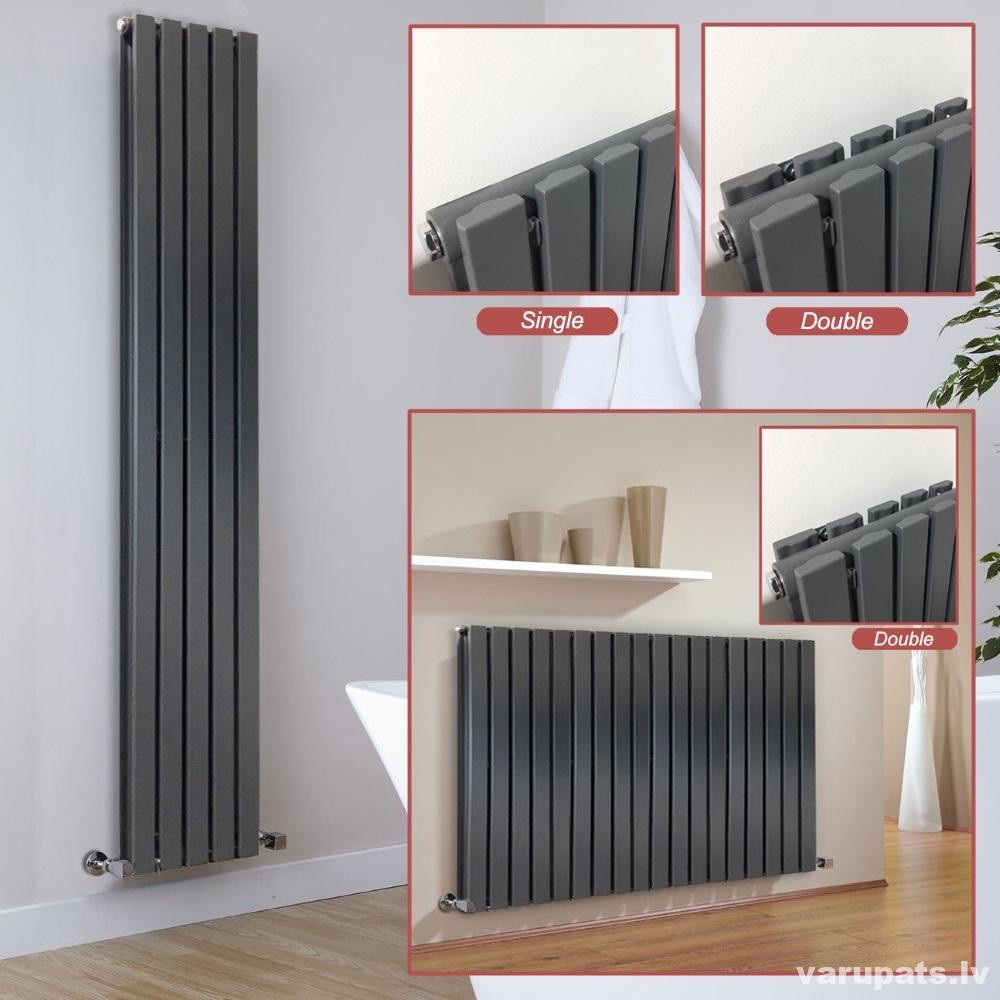 dizaina radiatori vertikalie horizontalie, dizaina radiatori melni, dizaina radiatori balti, dizaina radiatori antracita, diziana radirtori mateti