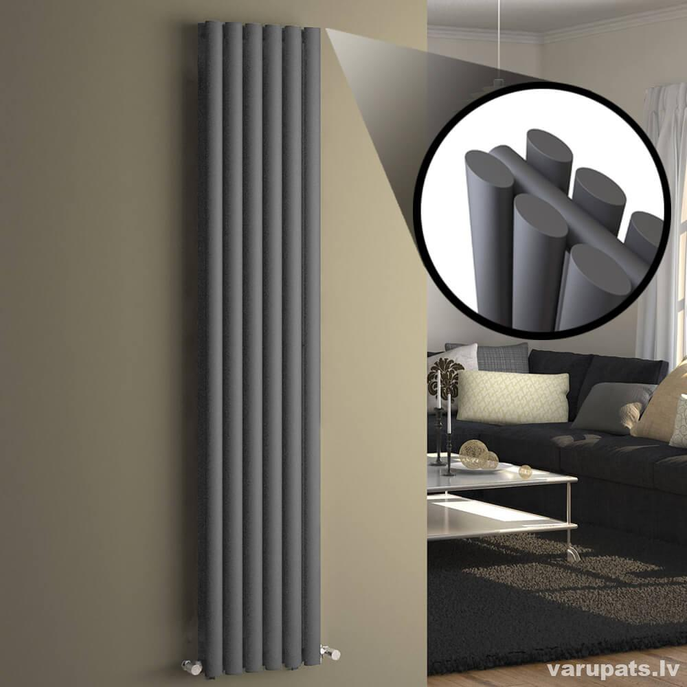 vertikalais dizaina radiators, kraftlager radiatori dizaina, dizaina radiatori cena, diazaina radiatori melni