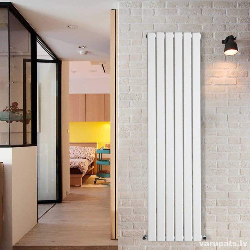 dizaina radaitors balts vertikalais, dizaina radiators ximax, vertikāls diziana radiators kraftlager