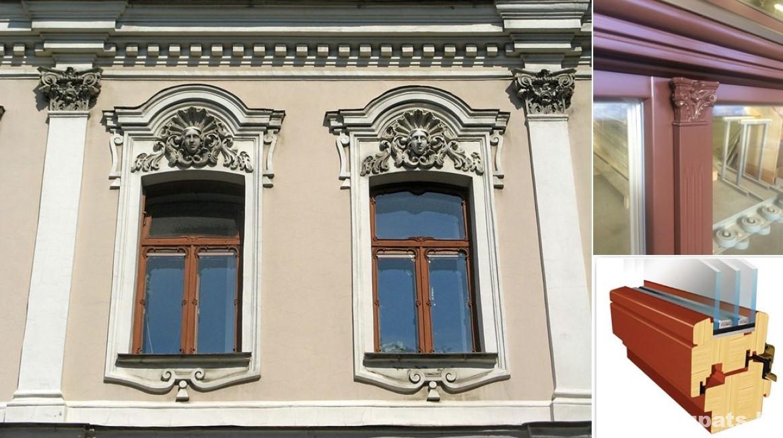 koka logi vesturiskais ekais, koka logi majai, koka logu izgatavosana, pasutit koka logus, koka logi privatmajai